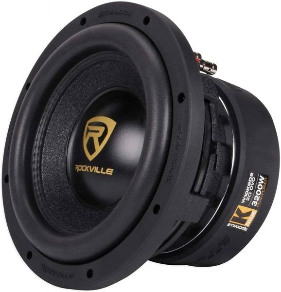 Rockville W10K9D2 Car Speakers