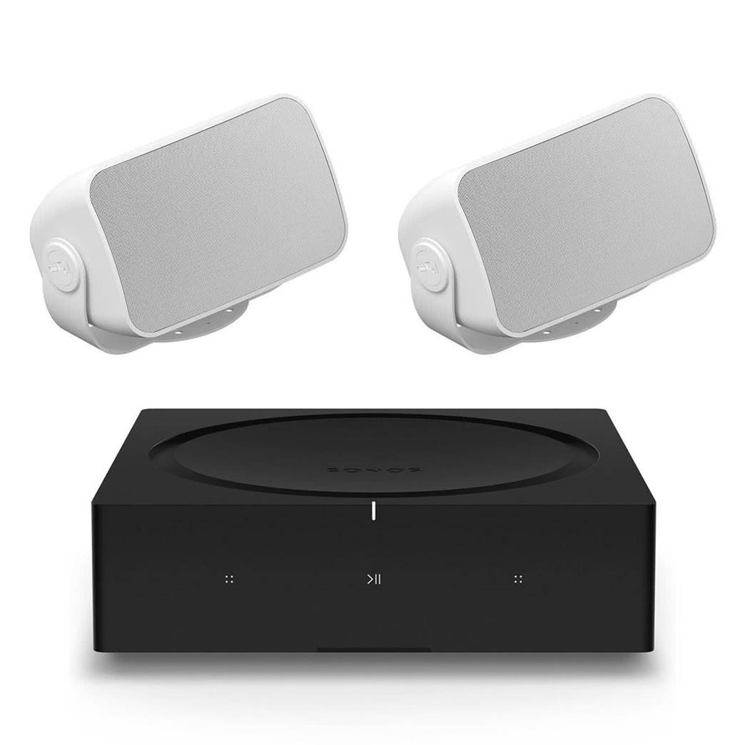 Sonos Outdoor Speakers with Amp Combo