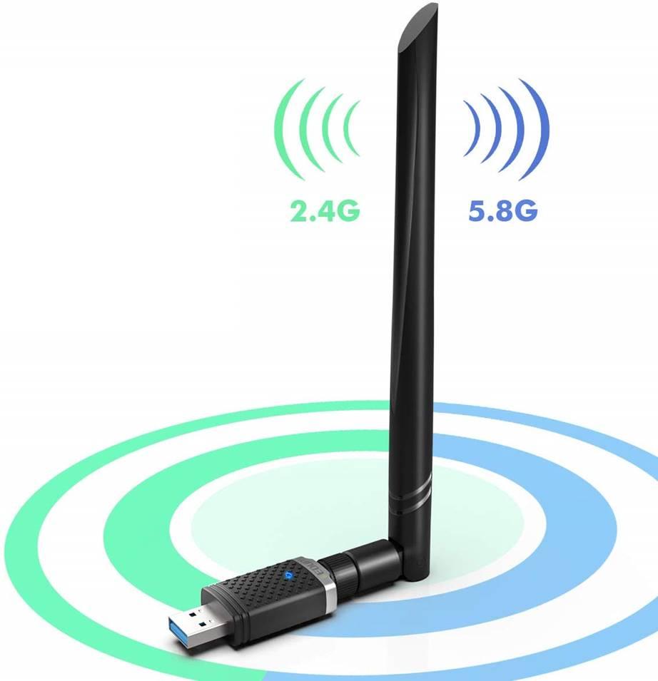 EDUP USB WiFi Adapter (1300 Mbps)