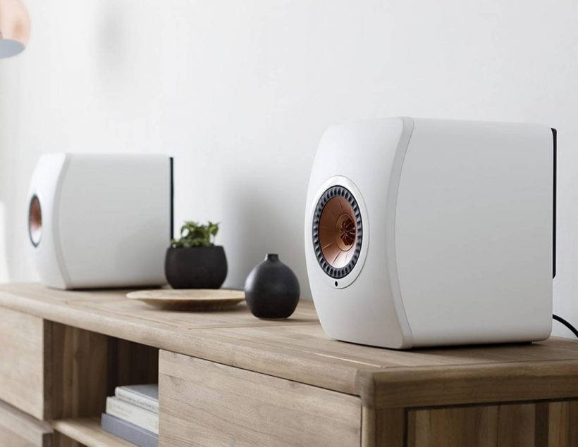 KEF LS50 Wireless Powered Speaker System Review