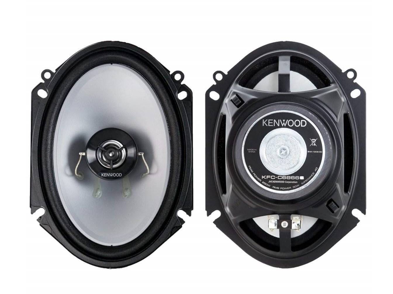 Kenwood KFC-C6866S Loudest Car Speakers