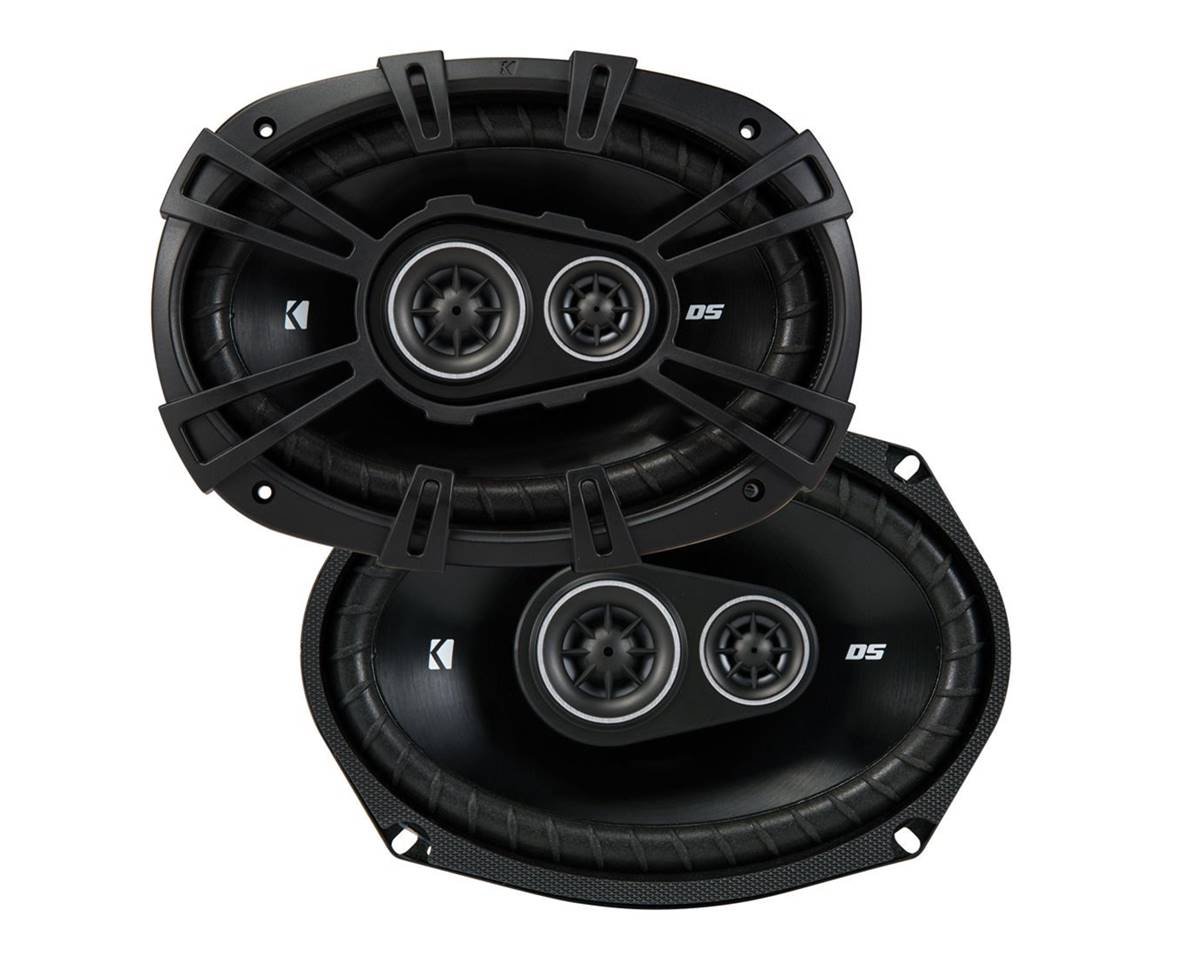 Kicker 43DSC69304 D-Series Loudest Car Speakers