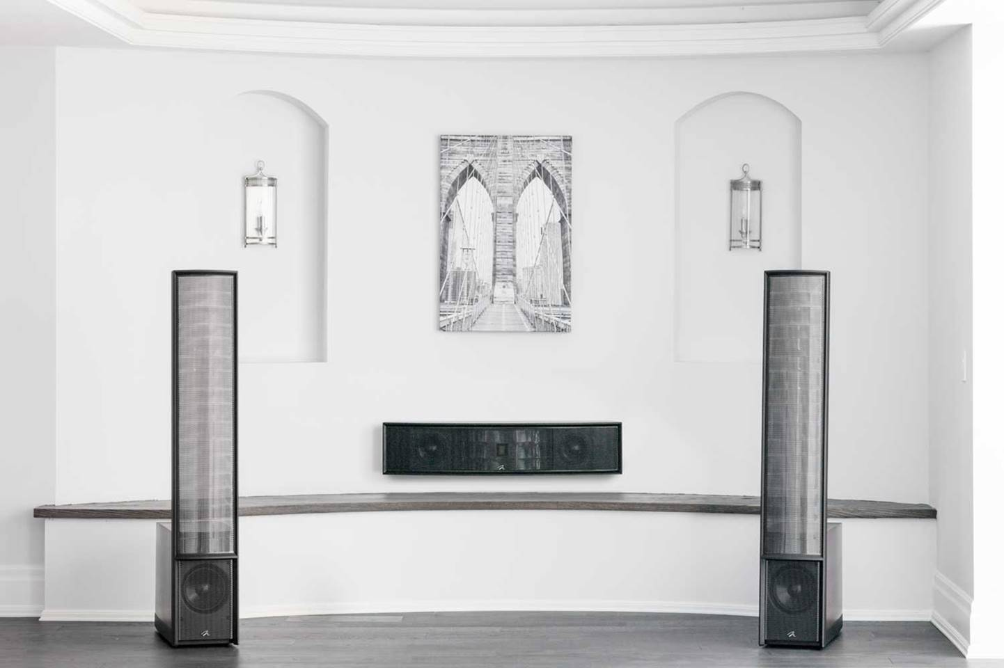 Martin Logan ElectroMotion ESL Hybrid Electrostatic Speakers