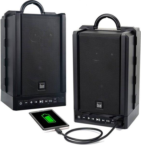 Dual Electronics LU48BT Wireless Outdoor Speakers
