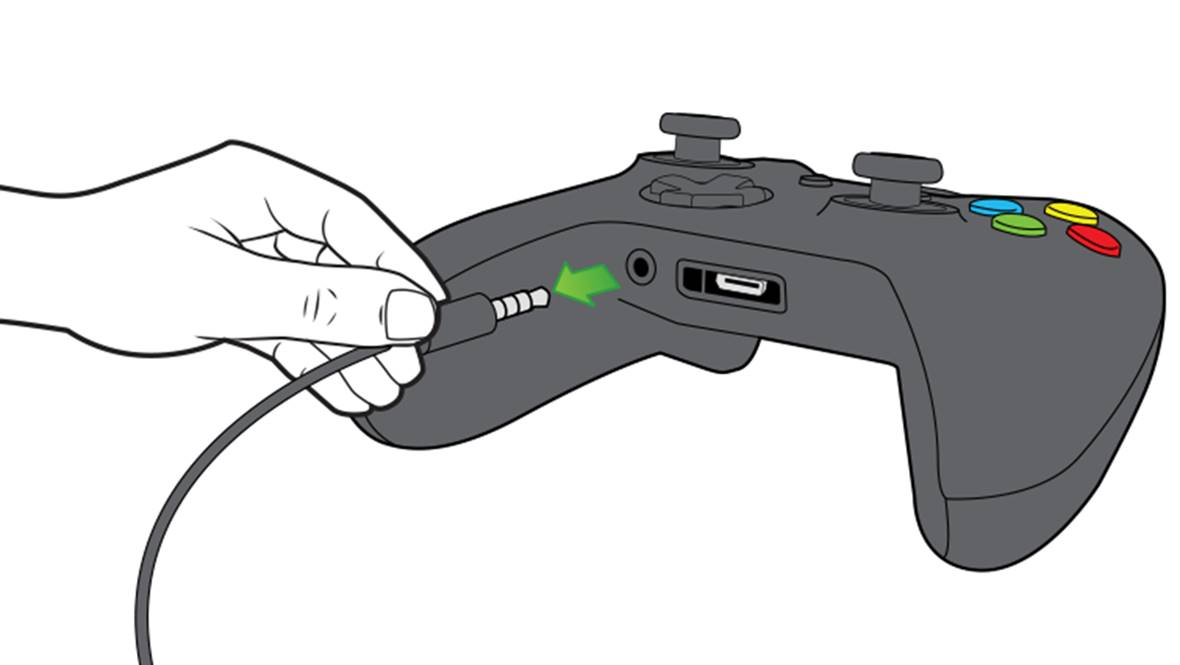 Xbox One Controller Auxiliary Output